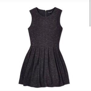 Talula Charcoal Waldorf Dress